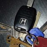 What should I do if I lock my keys in the car?